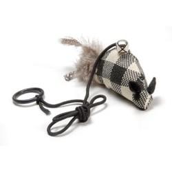 Zabawka dla kota - rybka w kratę