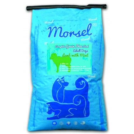 COMPLETE GRAIN FREE FOOD ADULT DOGS LAMB WITH MINT 12kg