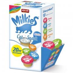 Animonda Milkies - zestaw mieszany 20 sztuk