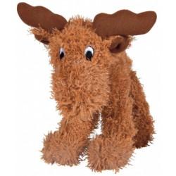 Zabawka dla psa - łoś z pluszu 15 cm