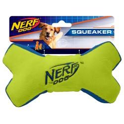 Zabawka Nerf Kość pluszowa piszcząca - Medium