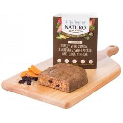 Naturo Chef's Selection - Indyk, quiona, żurawina, słodkie ziemniaki - dla małych psów