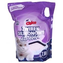 Chico -  żwirek silikonowy dla kotów - lawendowy 7,6 l