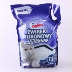 Chico -  żwirek silikonowy dla kotów - Compact naturalny 7,6 l