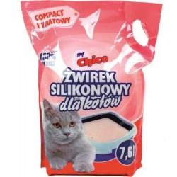 Chico -  żwirek silikonowy dla kotów - Compact kwiatowy 7,6 l