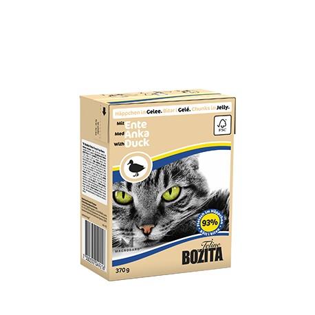 Bozita - kawałki mięsa w galaretce - łosoś i małże 370g