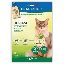 Francodex Obroża przeciw insektom dla psów ras dużych - powyżej 20 kg