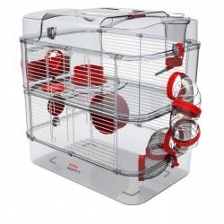 Klatka dla chomików, myszy, myszoskoczków ZOLUX Rody.3 Duo - granat