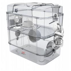 Klatka dla chomików, myszy, myszoskoczków ZOLUX Rody.3 Duo - czerwona