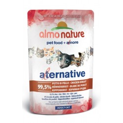 Almo Nature Alternative Pierś z kurczaka - saszetka 55g