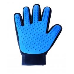 Gumowa rękawica do usuwania sierści