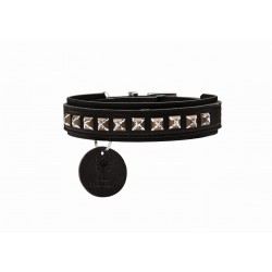 Obroża dla psa Hunter Larvik Style Comfort - brązowa