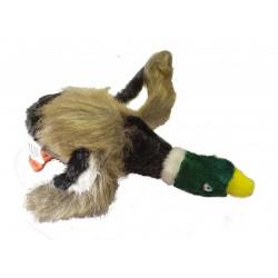 Zabawka dla psa Pluszowa piszcząca kaczka