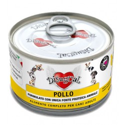 Karma mokra dla psa Disugual Monoprotein Biała Ryba 150g